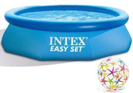 Nafukovací nadzemní kruhový bazén INTEX - výška 76 cm