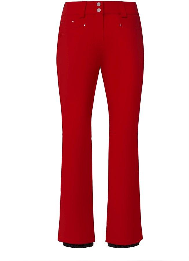 Červené dámské lyžařské kalhoty Descente - velikost 44