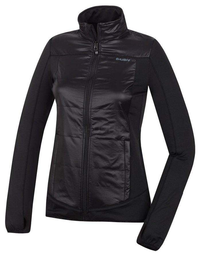 Černá dámská bunda Husky - velikost L