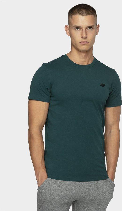 Zelené pánské tričko s krátkým rukávem 4F