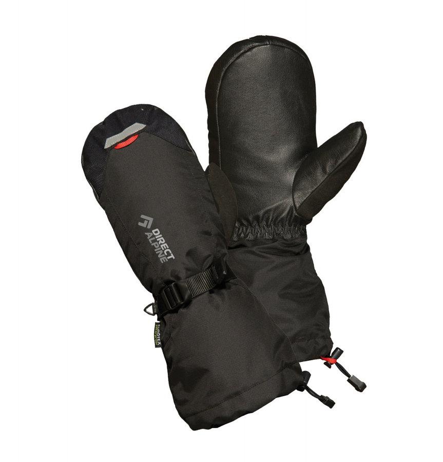 Černé zimní dámské ferratové rukavice Direct Alpine - velikost XL
