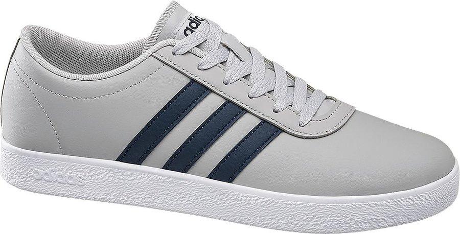 Šedé pánské tenisky Adidas - velikost 46 EU