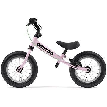 Růžové dětské odrážedlo Yedoo