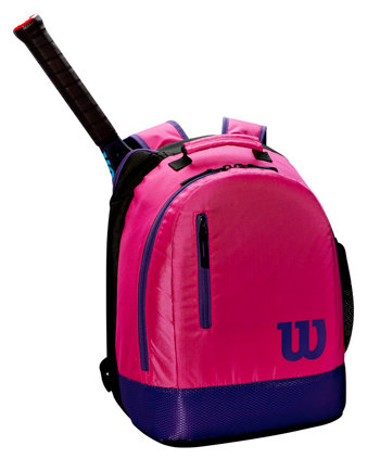 Tenisový batoh - Wilson Youth Backpack 2019 Pink/Purple