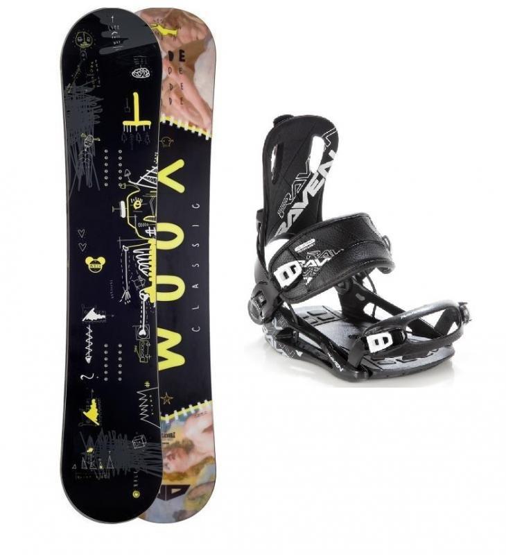 Snowboard s vázáním Woox