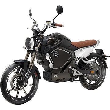 Černá elektrická motorka TC, Super SOCO