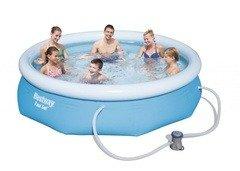 Nadzemní kruhový bazén Bestway - průměr 244 cm a výška 66 cm