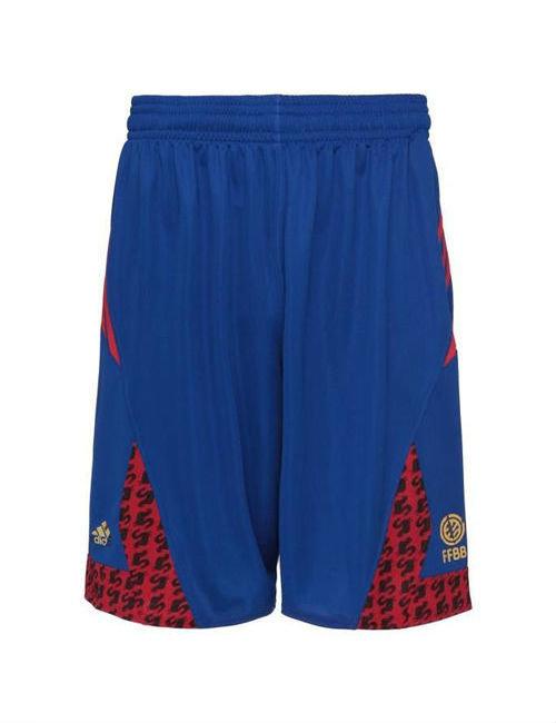 """Modré pánské basketbalové kraťasy """"Francouzská reprezentace"""", Adidas"""