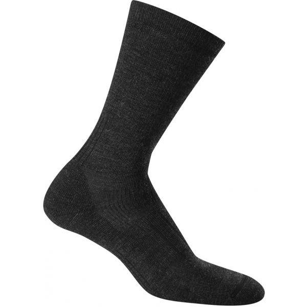 Ponožky - Icebreaker HIKE MEDIUM CREW tmavě šedá M - Ponožky na turistiku