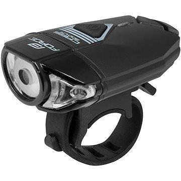 Světlo na kolo - Force Cass 300Lm, USB, černé (8592627088247)