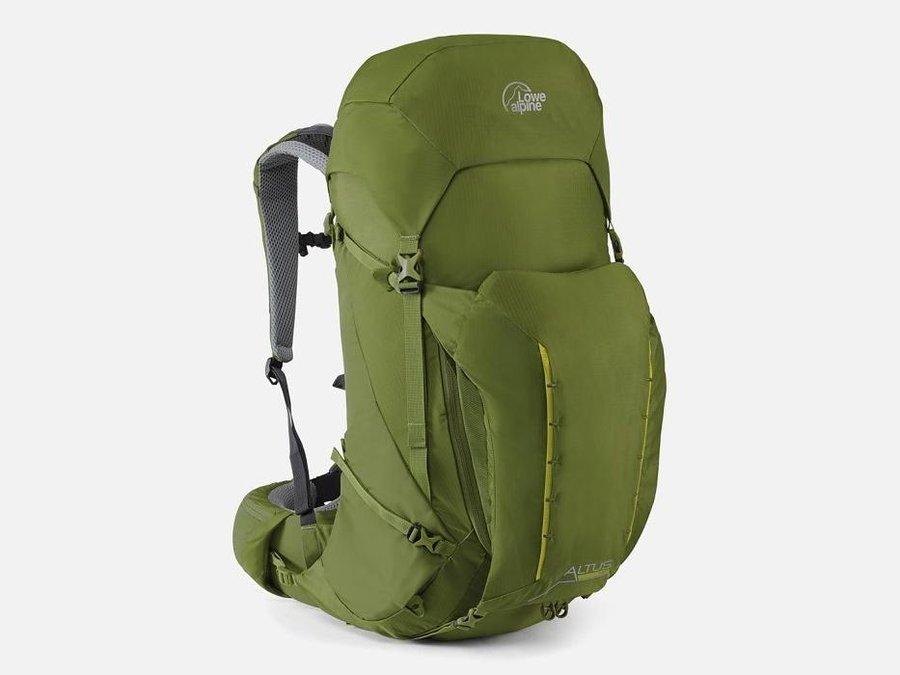 Zelený turistický batoh Lowe Alpine - objem 47 l