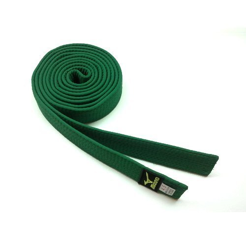 Zelený judo pásek Mizuno