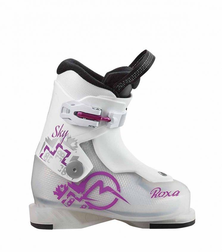 Dívčí lyžařské boty Roxa - velikost vnitřní stélky 18,5 cm