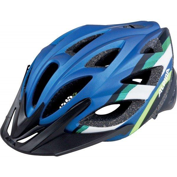 Modrá cyklistická helma Alpina - velikost 58-63 cm