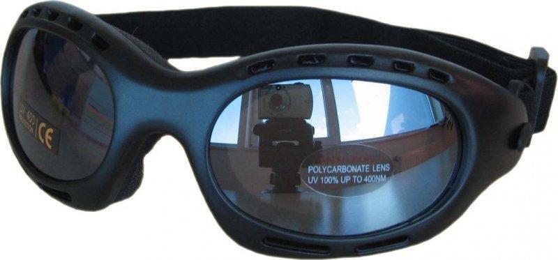 Černé brýle na běžky Cortini