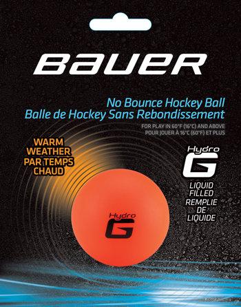 Oranžový hokejbalový míček Bauer