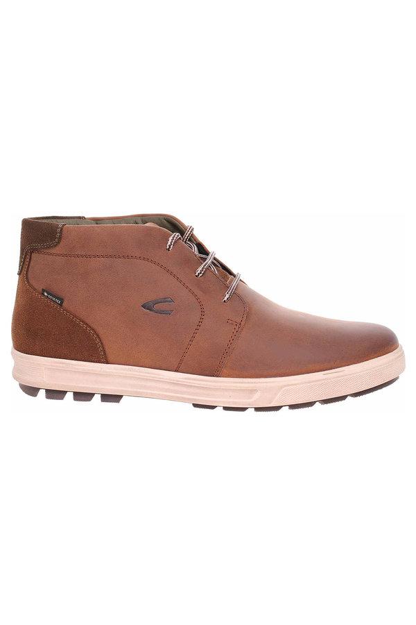 Hnědé pánské kotníkové boty Camel Active - velikost 49 EU