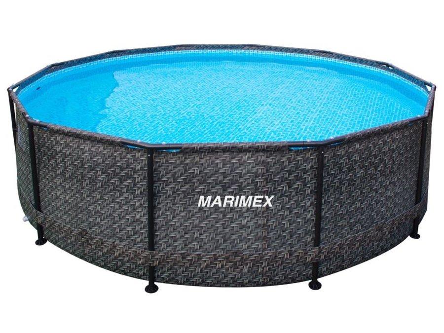 Nadzemní kruhový bazén Marimex - objem 9400 l, průměr 366 cm a výška 99 cm