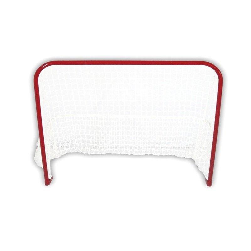 Kovová hokejová branka se sítí Street Hockey, Spartan - šířka 125 cm, výška 112 cm a hloubka 61 cm