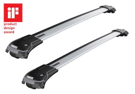 Střešní nosič - Střešní nosič wingbar edge pro Mazda 6 (MK I) 5-dr kombi se střešními podélníky (hagusy) 2002-2007 9581 - 78,6 cm