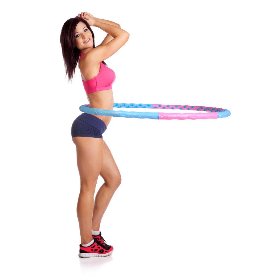 Gymnastický kruh - Obruč inSPORTline Weight Hoop Magnetic 110 cm