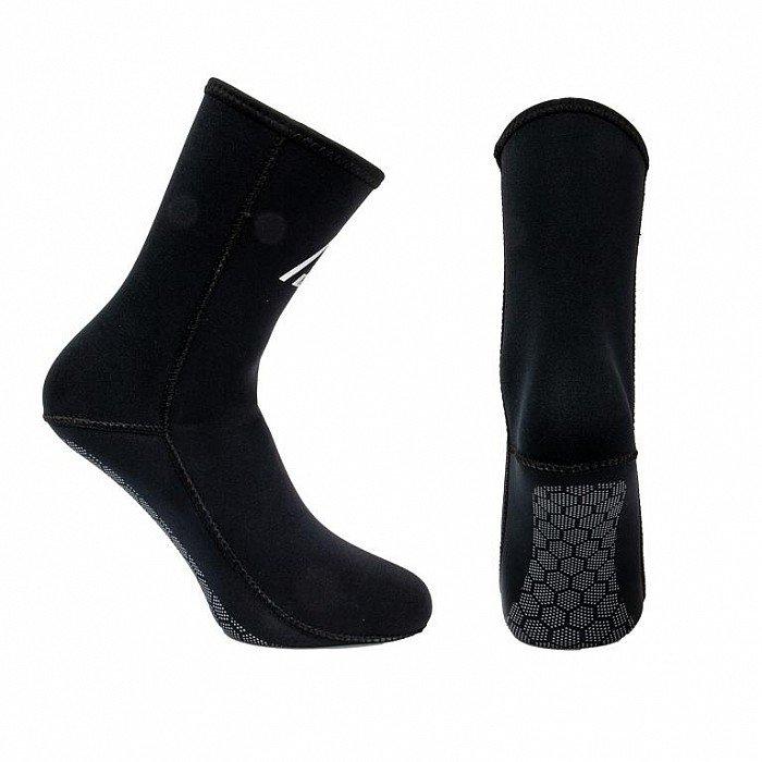 Černé neoprenové ponožky Beach, Agama