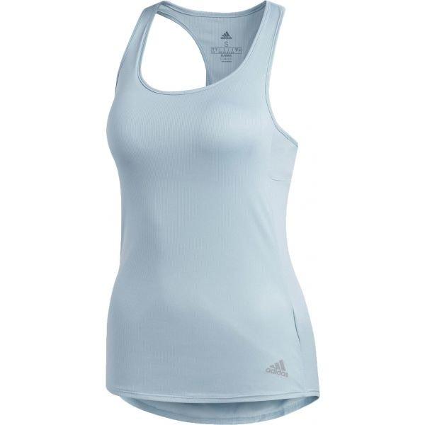 Modré dámské tílko Adidas - velikost L