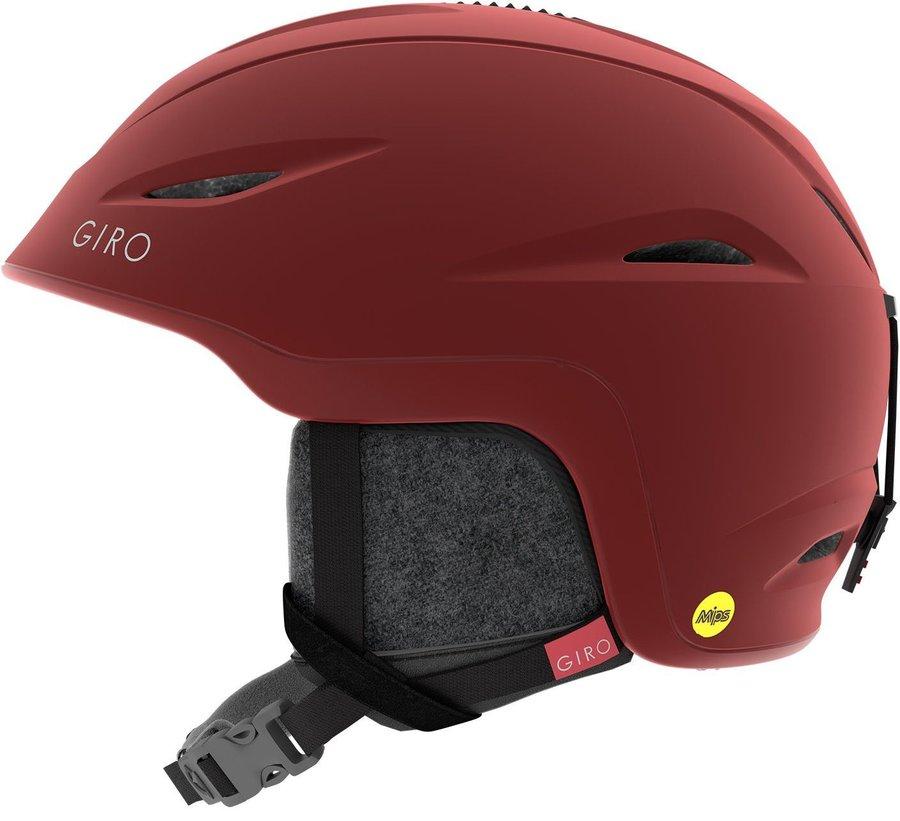 Červená dámská helma na snowboard Giro - velikost S