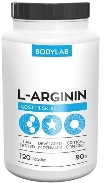 L-Arginin - L-arginin - Bodylab 120 tbl.