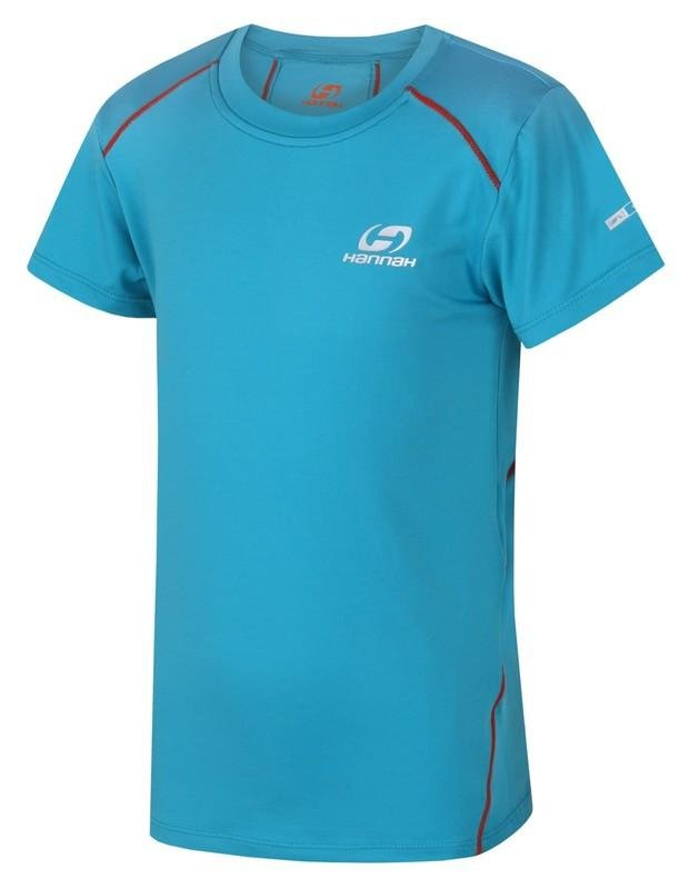 Modré dětské tričko s krátkým rukávem Hannah - velikost 128