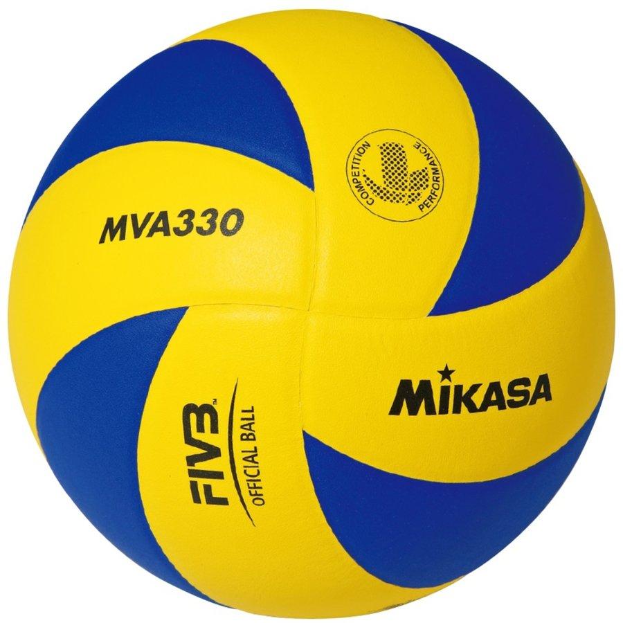 Modro-žlutý volejbalový míč MVA 330, Mikasa - velikost 5