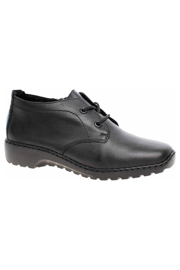 Černé dámské kotníkové boty Rieker - velikost 37 EU