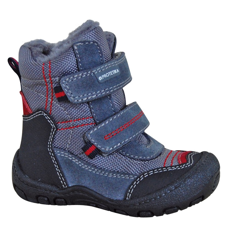 Modré chlapecké zimní boty Protetika - velikost 20 EU