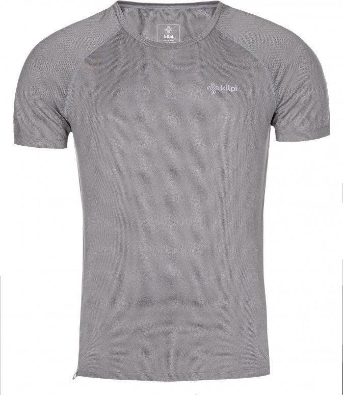 Šedé pánské běžecké tričko Kilpi