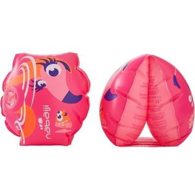 Růžové dětské nafukovací plavecké rukávky Nabaiji