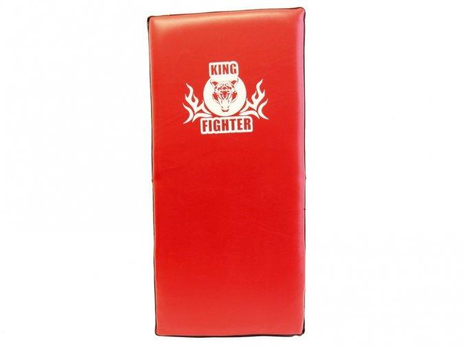 Červený odrážecí blok King fighter