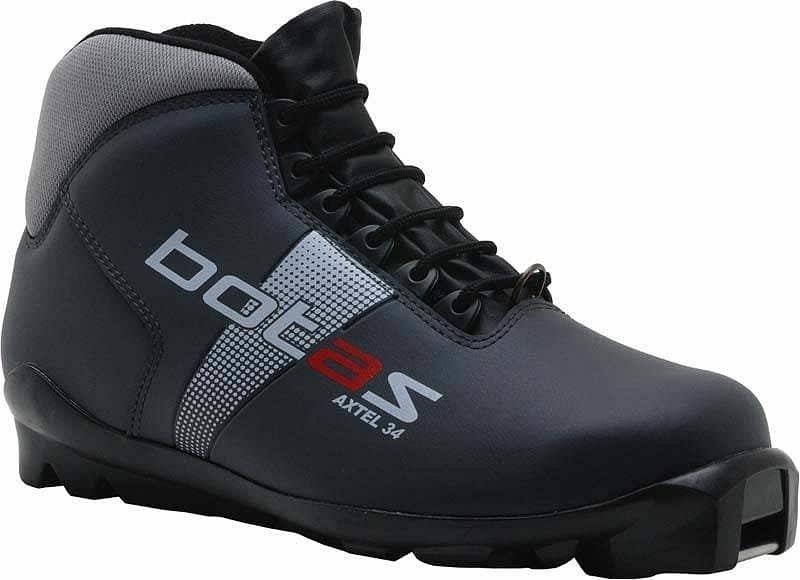 Černé boty na běžky SNS Botas - velikost 47 EU