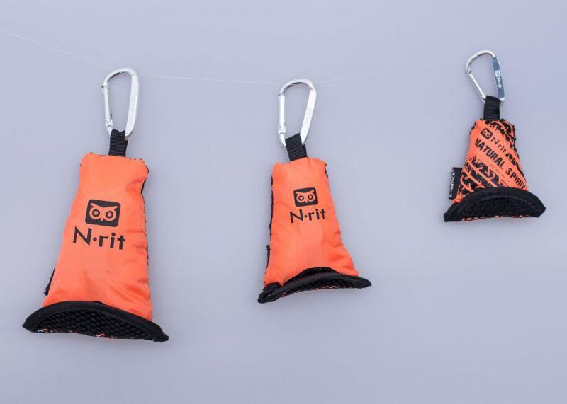 Ručník - Ručník N-Rit Campack Towel S Barva: oranžová