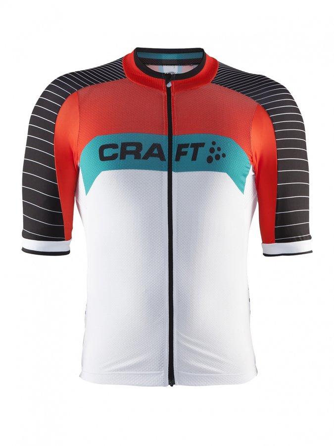 Bílý pánský cyklistický dres Craft