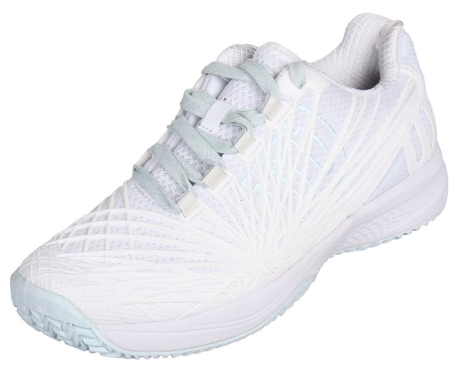 Bílá dámská tenisová obuv Kaos 2.0 Clay Court W, Wilson - velikost 38 1/3 EU
