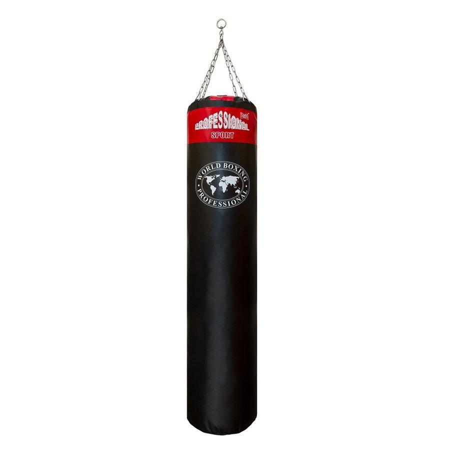 Černo-červený boxovací pytel Shindo - 35 kg