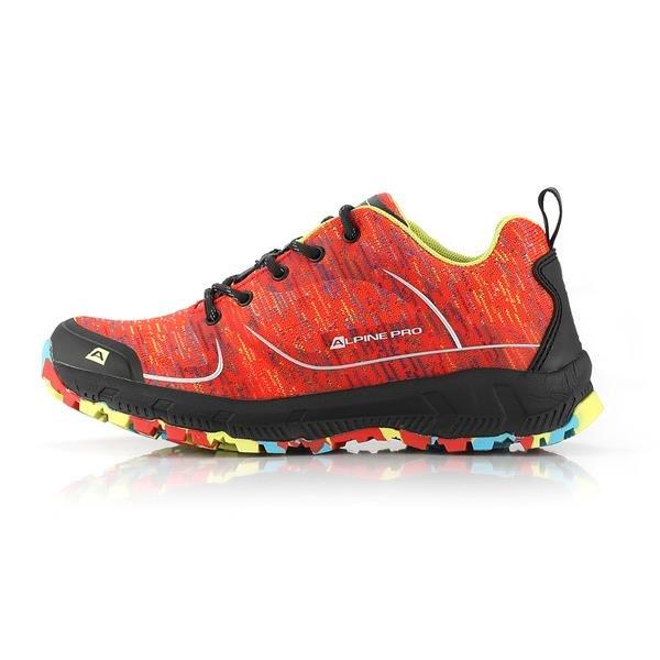 Oranžové dámské trekové boty Alpine Pro