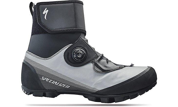 Bílo-černé pánské cyklistické tretry Defroster Trail MTB, Specialized