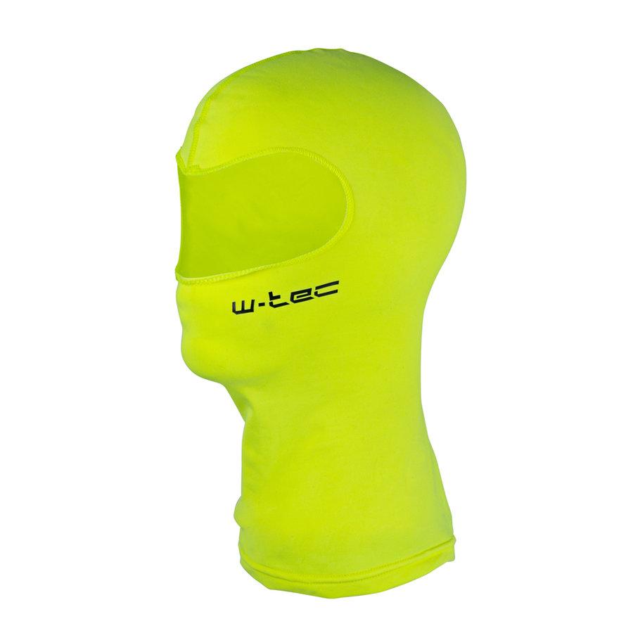 Žlutá lyžařská kukla W-TEC