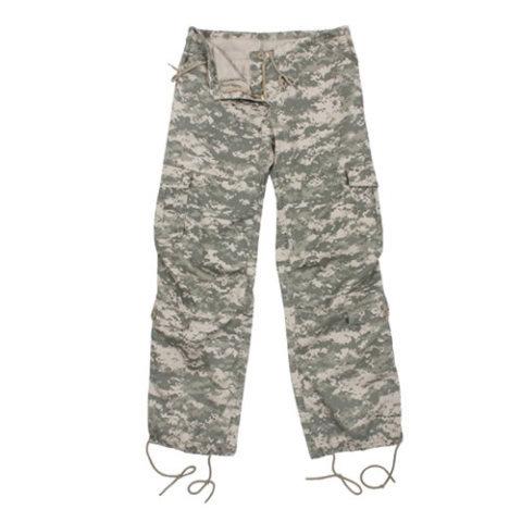Kalhoty - Kalhoty dámské VINTAGE ACU DIGITAL
