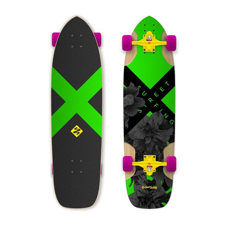 """Longboard - Longboard Street Surfing Freeride Electrica 36"""""""