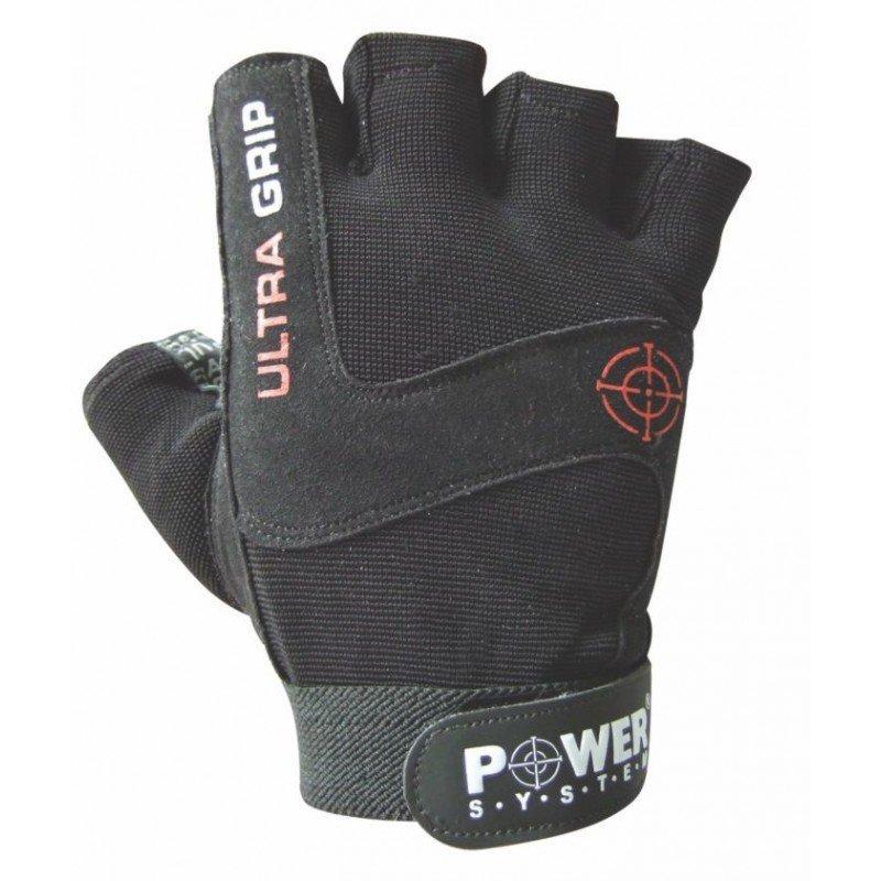 Černé fitness rukavice Power System - velikost S