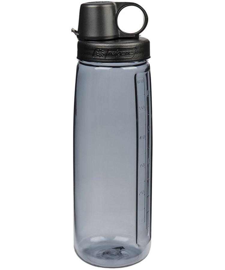 Šedá láhev na pití OTG, Nalgene - objem 0,65 l