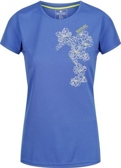 Modré dámské funkční tričko s krátkým rukávem Regatta - velikost 34