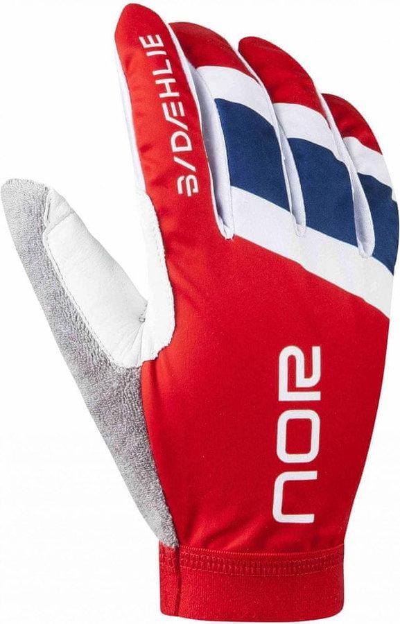 Červené rukavice na běžky Bjorn Daehlie